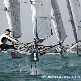 Simon Payne leads the 2010 Puma Moth Worlds