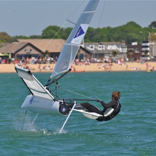 Grand Prix Series Round 4. Stokes Bay.