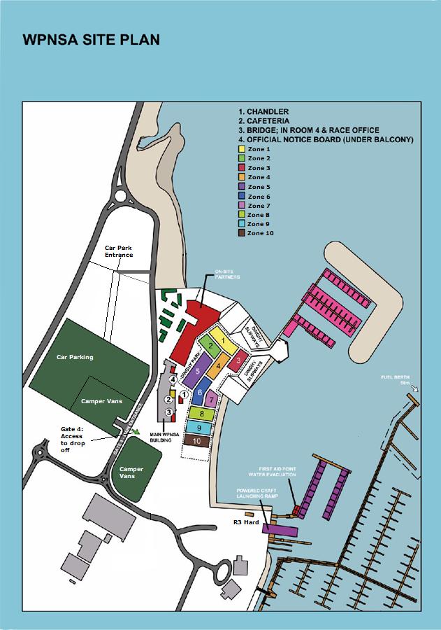 WPNSA Site Plan