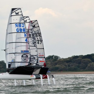 SailTek Stokes Bay GP 2014