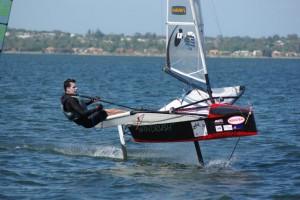 2007 Bladerider sailed by Bret Burville
