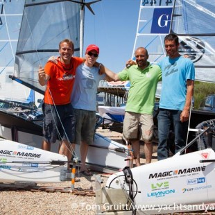 Moth Worlds 2014 Home Builders Cup