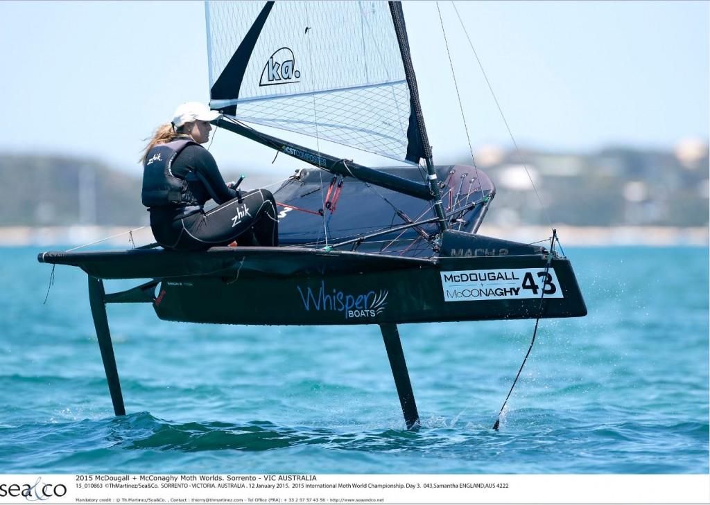 Sam England (AUS) 2015 Ladies World Champion