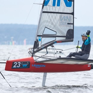 Mike Lennon wins the 2016 Europeans in sweltering Bordeaux